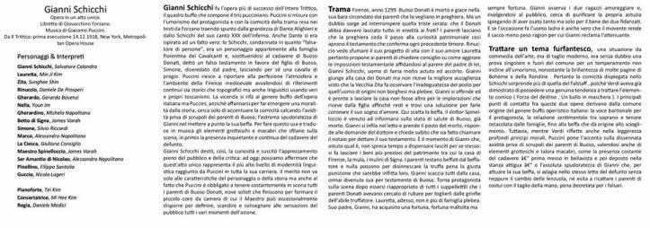Gianni Schicchi brochure 2