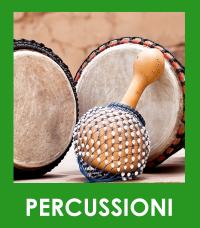 Cartellino Percussioni