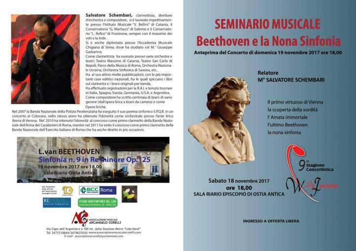 Beethoven e la nona sinfonia